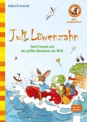 Juli Löwenzahn - Zwei Freunde und das größte Abenteuer der Welt Cover