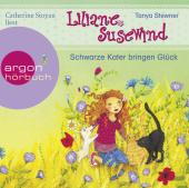 Liliane Susewind - Schwarze Kater bringen Glück, 1 Audio-CD Cover