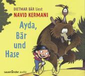 Ayda, Bär und Hase, 3 Audio-CDs Cover