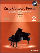 Easy Concert Pieces, für KLavier, m. Audio-CD