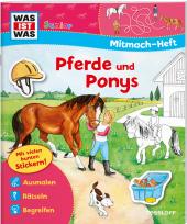 Pferde und Ponys, Mitmach-Heft