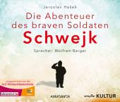Die Abenteuer des braven Soldaten Schwejk, 8 Audio-CDs Cover