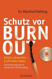 Schutz vor Burn-out, m. DVD Cover