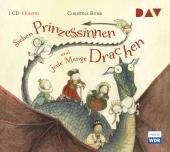 Sieben Prinzessinnen und jede Menge Drachen, 1 Audio-CD Cover
