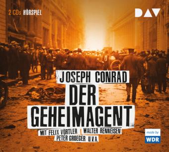 Der Geheimagent, 2 Audio-CDs