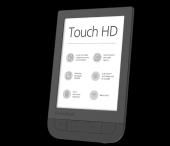 Pocketbook Touch HD black, E-Book Reader