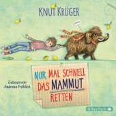 Nur mal schnell das Mammut retten, 2 Audio-CDs Cover