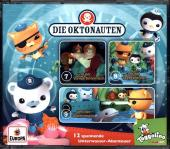 Die Oktonauten, 3 Audio-CDs