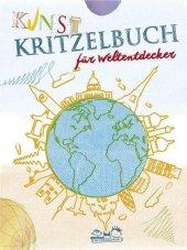 Kunstkritzelbuch für Weltentdecker Cover