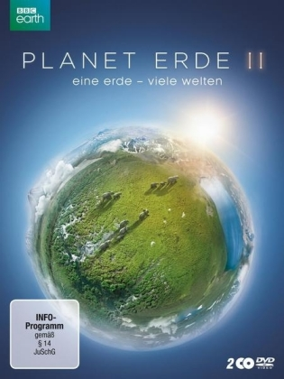 Planet Erde: eine erde - viele welten, 2 DVD