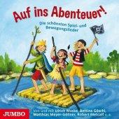 Auf ins Abenteuer!, Audio-CD Cover