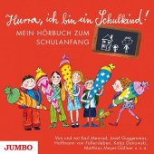 Hurra, ich bin ein Schulkind!, 1 Audio-CD Cover