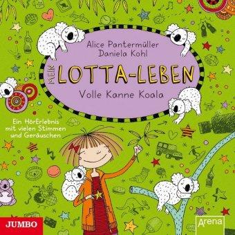 Mein Lotta-Leben - Volle Kanne Koala, 1 Audio-CD
