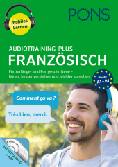 PONS Audiotraining Plus Französisch, 4 Audio-MP...