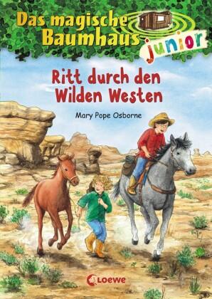 Das magische Baumhaus junior - Ritt durch den Wilden Westen