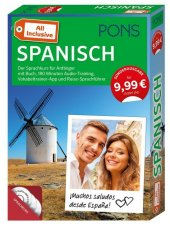 PONS All inclusive Spanisch, Kursbuch, 3 Audio ...