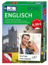 PONS All inclusive Englisch, Kursbuch, 3 Audio ...