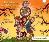 Club der Heldinnen - Entführung im Internat, 4 Audio-CDs Cover