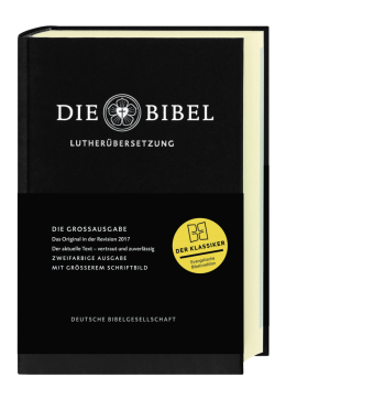 Die Bibel, Lutherbibel revidiert 2017 - Großausgabe