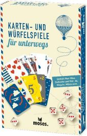 Karten- und Würfelspiele für unterwegs (Spielesammlung) Cover