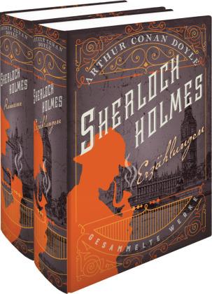 Sherlock Holmes - Gesammelte Werke, in 2 Bdn.