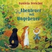 Abenteuer mit Ungeheuer, 1 Audio-CD Cover