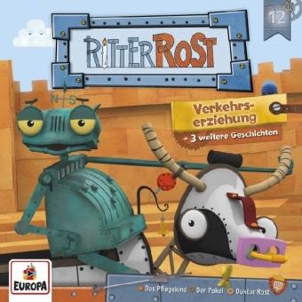Ritter Rost Serie - Verkehrserziehung, Audio-CD