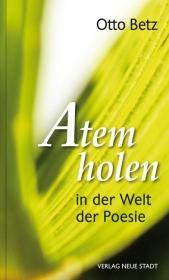 Atem holen in der Welt der Poesie Cover