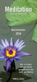 Meditation Notizkalender 2018