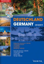 KUNTH Reiseatlas Deutschland / Germany 2018/2019