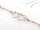 Armband mit Element & Kristallen - Herz an Herz Cover
