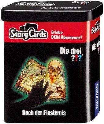 Die drei ??? Storycards - Buch der Finsternis (Kinderspiel)