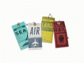 Luggage Tags, 4 parts