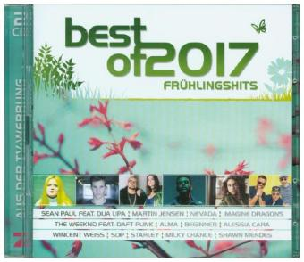 Best Of 2017 - Frühlingshits, 2 Audio-CDs