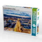 Blick über die Königstraße in Stuttgart (Puzzle)