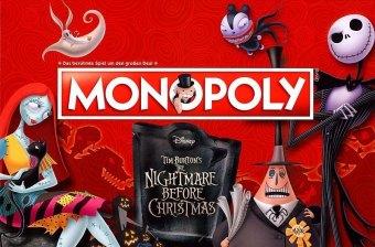 Monopoly Tim Burton's The Nightmare Before Christmas (Spiel)