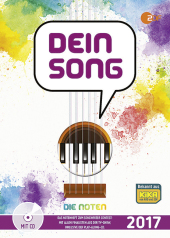 Dein Song 2017, Die Noten, m. MP3-CD