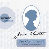 Jane Austen Gesamtausgabe, 13 MP3-CDs Cover