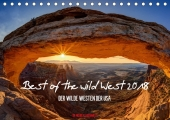 Best of the wild West 2018 (Tischkalender 2018 ...