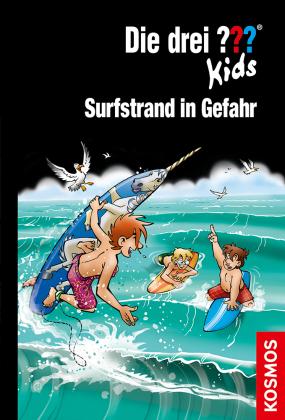 Die drei ??? Kids, Surfstrand in Gefahr