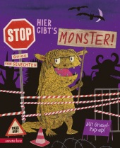 Hier gibt's Monster! Cover