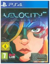 Velocity 2X, 1 PS4-Blu-ray Disc