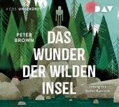 Das Wunder der wilden Insel, 4 Audio-CDs Cover