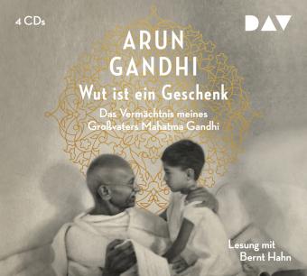 Wut ist ein Geschenk, 4 Audio-CDs