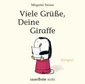 Viele Grüße, Deine Giraffe, 1 Audio-CD Cover
