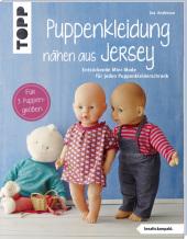 Puppenkleidung nähen aus Jersey Cover