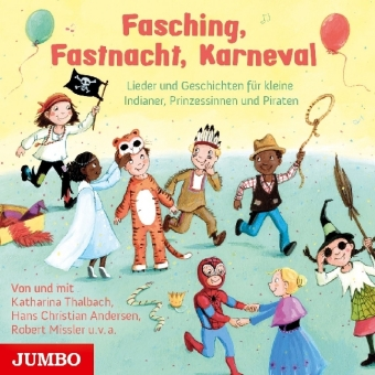 Fasching, Fastnacht, Karneval, 1 Audio-CD