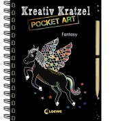 Kreativ-Kratzel Pocket Art - Fantasy