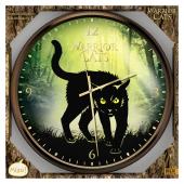 Warrior Cats - Wanduhr mit Katzenlauten Cover