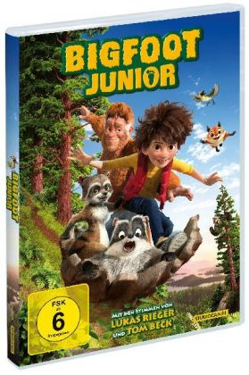 Bigfoot Junior, 1 DVD